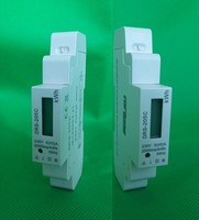 RS485 Modbus protocol single phase energy meter for Remote Control Power Meter