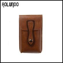Real Leather Men Wallet Case Cell Phone Case