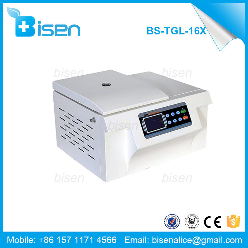 BS-TGL-16X Laboratory Micro Table-top High-speed Blood Refrigerated Centrifuge