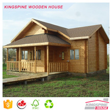 Low cost Cabin Wooden Prefab Log House Cottage Chinese Factory KPL-010
