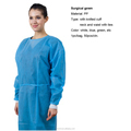 Brand new waterproof surgical gowns sterile disposable isolation gown