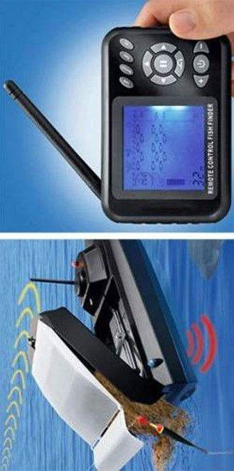 JL-2 Fishing Remote Control Boat With Fish Finder