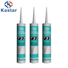 High Intensity Construction Acetic Silicone Sealant For Sealing Bonding Glazing