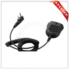 New Black MAXTON Mini MT68 PTT Speaker MIC For Kenwood Radio QUANSHENG PUXING TYT HYT BAOFENG