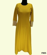 Designer Abaya Kaftan Wholesale For Ladies 2014 Model Baju Kurung Modern