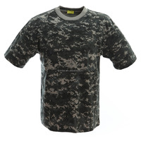 Custom 100 Cotton Army T-shirt in China Short Sleeve