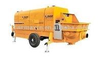 trailer mounted concrete pump:HBT60-9-75Z