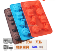 New design DIY silicone chocolate mold soap mold silicon cake mold