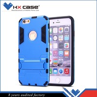 Free sample lowest price combo case for iphone 6 with kickstand