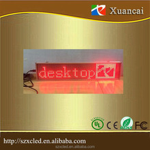Hanging P5-16x80 SMD 3528 Ultra-Thin LED Super- Slim moving message time date display screen