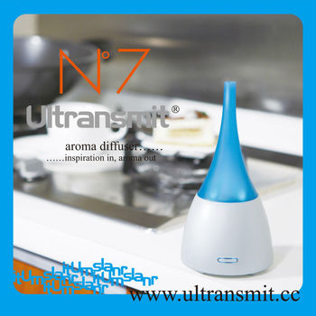 Ultrasonic electric fragrance aroma diffuser
