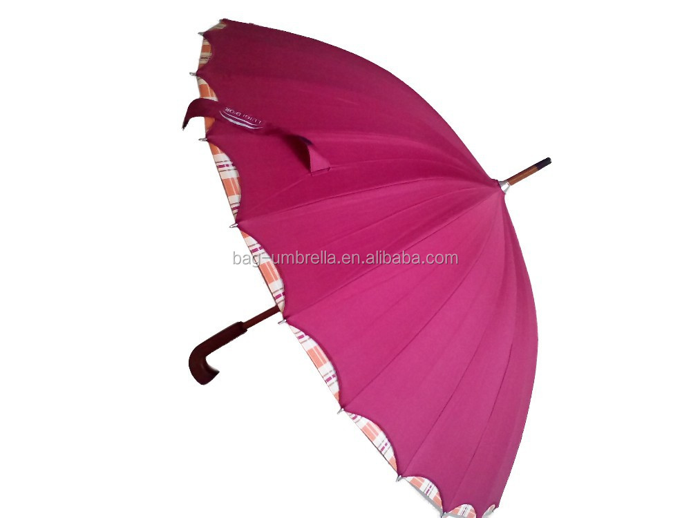 Ladies fashion umbrella 24K Umbrella old fashioned umbrellas