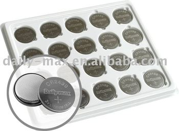 lithium battery CR2430 lithium button cell battery