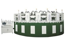 Curved Automatic Eva Foaming Injection Moulding Machine