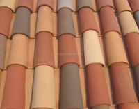 IVON glazed ceramic tile clay roof tiles for sale