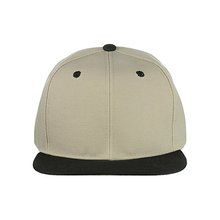 Customize high quality 6 panel square flat brim plain blank snapback hats