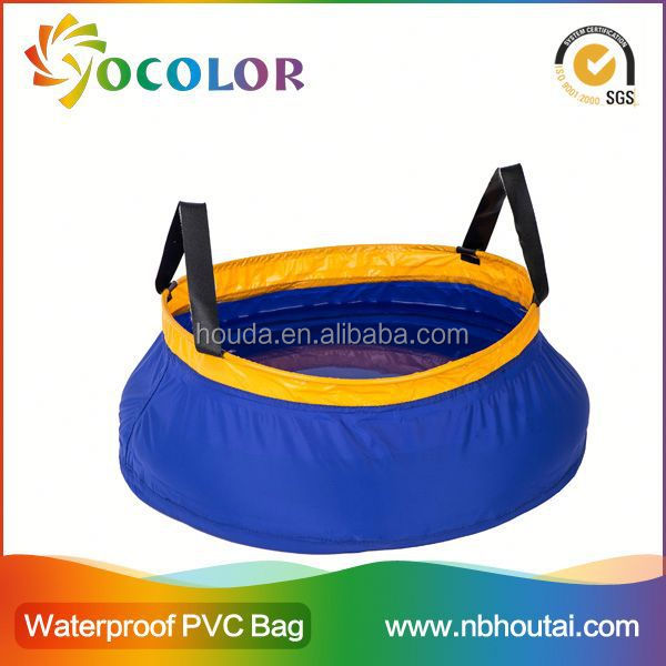 Flexible and foldable pvc tarpaulin Galvanized Bucket