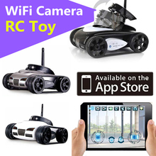 2016 777-270 I Spy WiFi Remote Control By Iphone Android Robot with Camera 4CH APP Mini RC WIFI Tank Car Video 0.3MP Camera