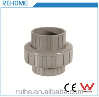 DIN8063 PVC Plastic Union water pipe fitting