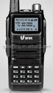BFDX newly 5w DTMF two way raidio BF-532 with button and screen