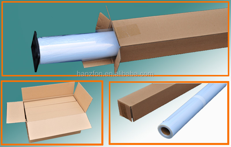 Corona Treatment PET Film Aluminum Coated For Inkjet Printing