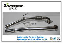 With or without CATS Stainless Steel 304 DOWNPIPES for AUDI 2.0 2.5 TFSI exhaust kits automobile exhaust parts