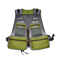 High Quality New Design Adjustable Breathable Mesh Fly Fishing Vest