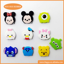 OEM Cartoon Animals Kids Fridge Magnet Teach Toys Soft PVC Magnetic Sticker