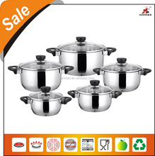 party using stainless steel tramontina cookware