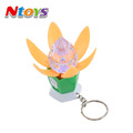 Kids Mini Led Flashlight Flower Keychain Toys