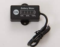 Small Waterproof LED Battery Charge Indicator Discharge Indicator Meter For Battery Test