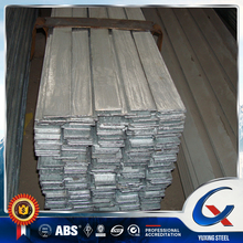 high quality galvanized flat steel bar with round edge