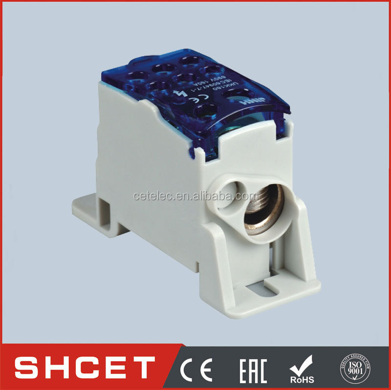 CET-UKK160 UL94V0 Nylon Unipolar junction box Compact Terminal Blocks