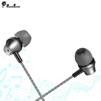PunnkFunnk Earphones Earbuds Headset In Ear wired With Mic Volume Control 3.5mm White Black Gold With RetailBox