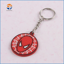 Most beautiful cartoon cute 3d pvc rubber keychain promotional ,best gifts cheap custom keychains from china