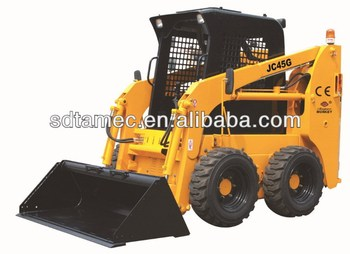 skid steer loader, with steel track