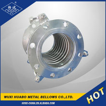 Single Metallic Bellows Axial Elastomeric Expansion Joint