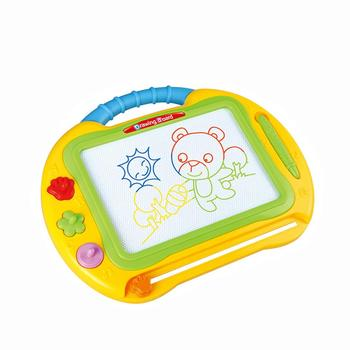 Educational Kids plastic magic writing toy erasable magnetic drawing board for baby