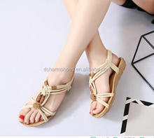 2018 New Famous Brand girls Flat Sandals Cheap Women Casual Shoes Top Quality