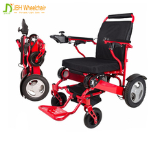 CE certificate Aluminum lightweight portable power wheelchair with lithium battery