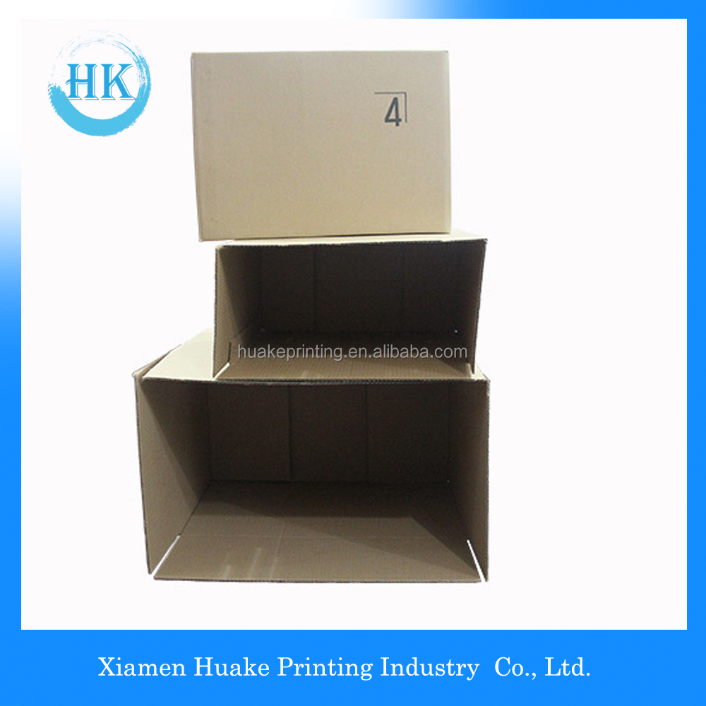 Wholesale For Fruit/corrugated cardboard mailing outer carton box/E Flute Corrugated