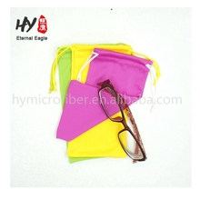 Wholesale beautiful eyeglass microfiber cleaning pouch