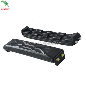High Quality Mini Excavator Undercarriage Parts SK30SR Rubber Track Pads