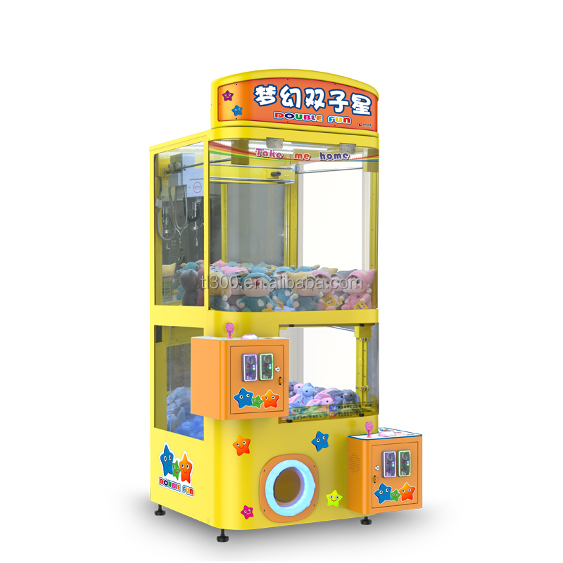 Double Fun crane toy claw game machine