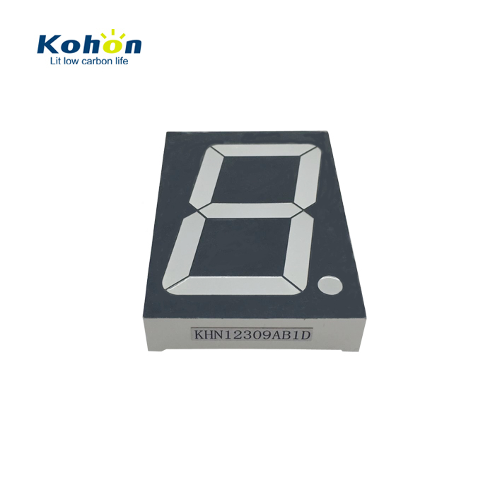 Fast produce large led display 2.3 inch common anode blue colour 7 segment LED display