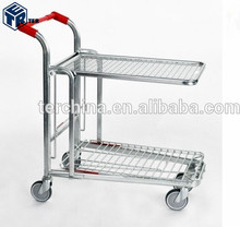 Supermarket Recycle Galvanized Storage Roll Cages