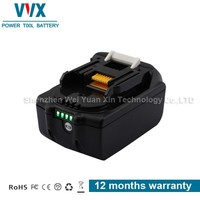 High quality cell BL1850 18v 4500mah power tool battery