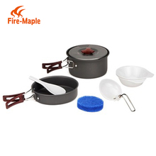 Fire Maple Wholesale Alibaba OEM-FMC-203-1 Outdoor Camping survival Cookware Set For 1-2 Persons