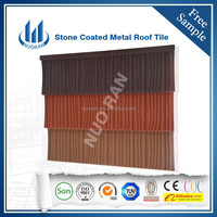 NUORAN low price Sand Coated Metal Roofing Tiles/Shingles Roof Tile using for house in Nigeria