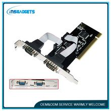 Adapter card ,h0txf 2 serial port pci card for sale